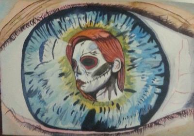 Nicky's watercolour Studio